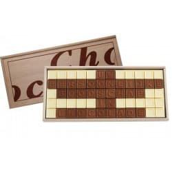 chocolade telegram 50 cadeau sarah abraham