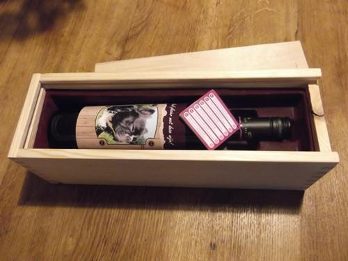 50 jaar fles in doos