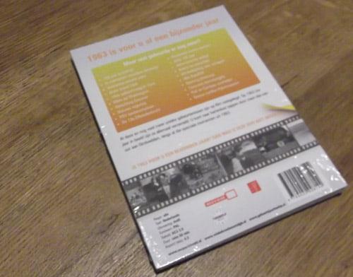 achterkant dvd 50 jaar cadeau