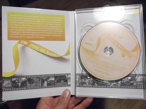 binnenkant dvd verpakking 50 jaar cadeau