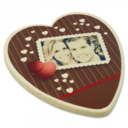 chocolade hart persoonlijk foto 50 jaar cadeau