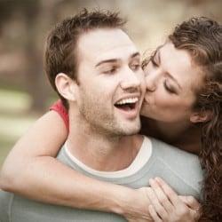 Twee mensen op een romantisch uitje