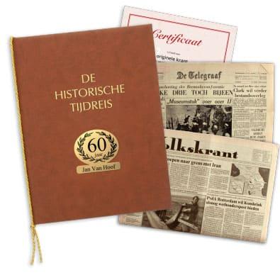Origineel tijdschrift met echtheidscertificaat cadeau