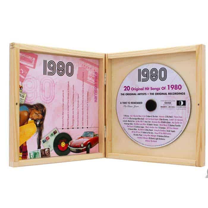 Houten Box CD Cadeau