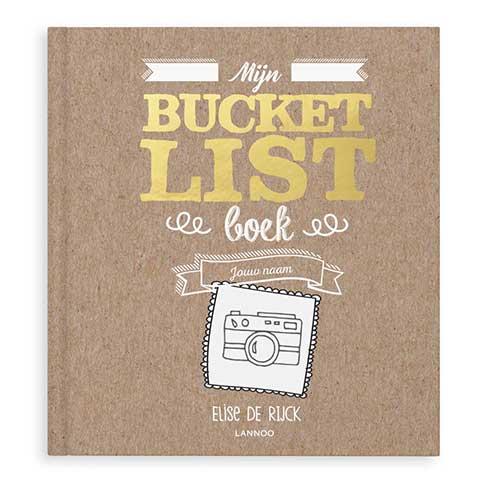 persoonlijk boek cadeau bucketlist