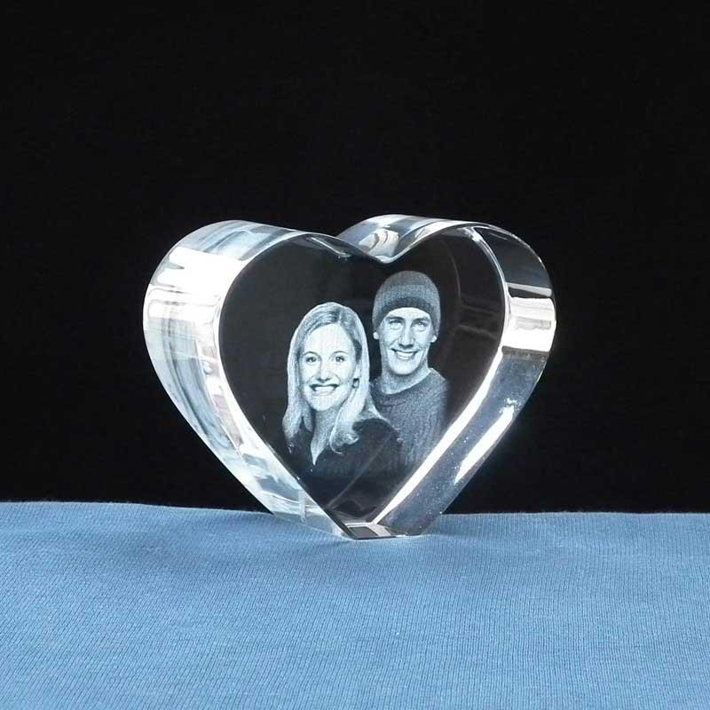 foto hart kristal cadeau 50 jaar