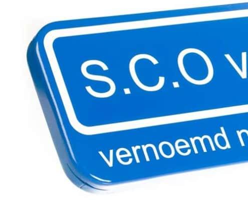 persoonlijk straatnaambord