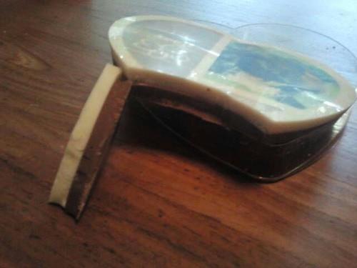 chocolade doorsnede cadeau 50 vader moeder