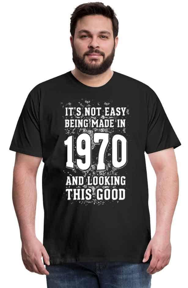 50 jaar cadeau abraham shirt 1970