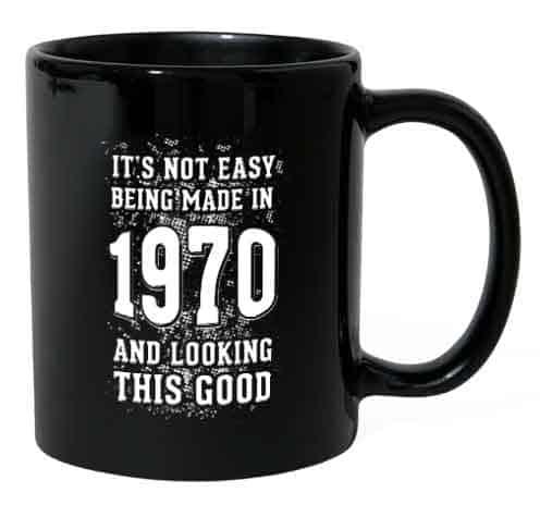 50 jaar cadeau mok 1970