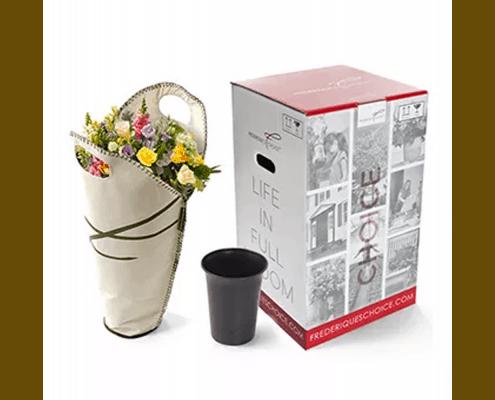 Verpakking voor bloemen 50 jaar verjaardag