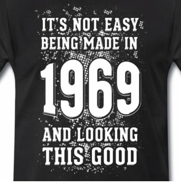 1969 50 jaar cadeau