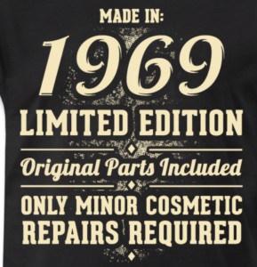 50 jaar cadeau idee shirt