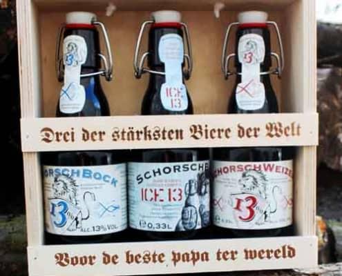 bierpakket persoonlijke beschrijving abraham cadeau