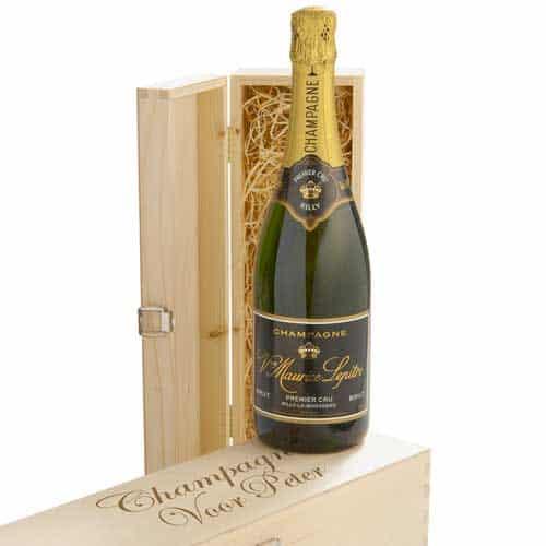 persoonlijke champagne fles