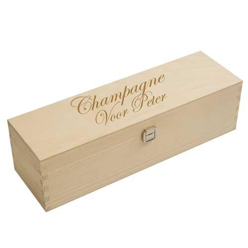champagne kist jubileum gravure