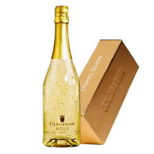 goudstaaf wijn persoonlijk jubileum cadeau