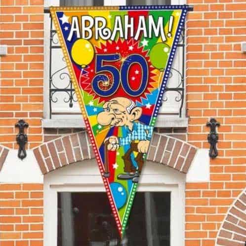 Vlag Abraham Cadeau