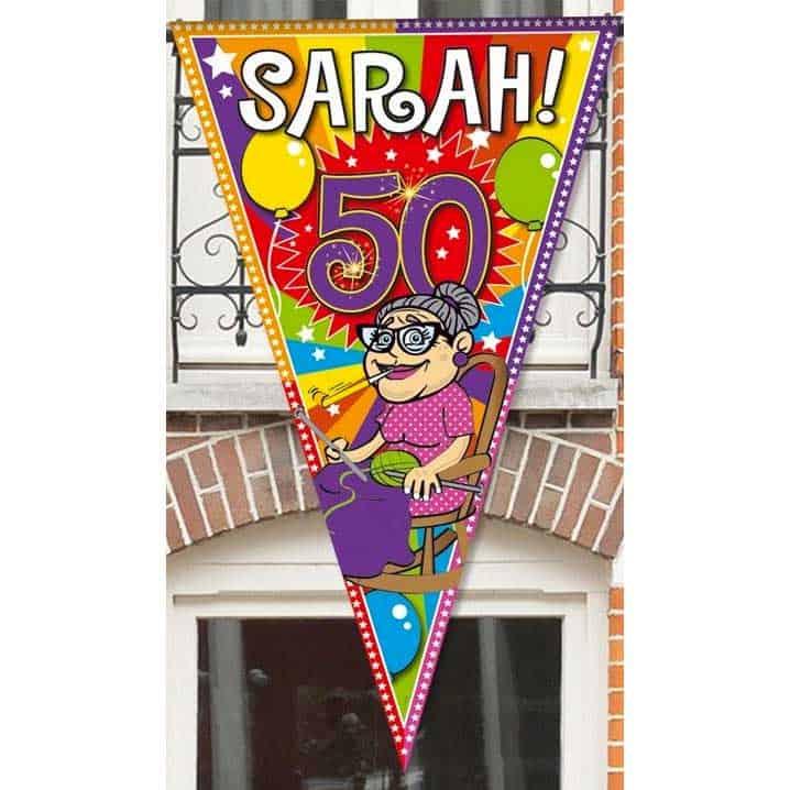 Vlag Sarah Cadeau