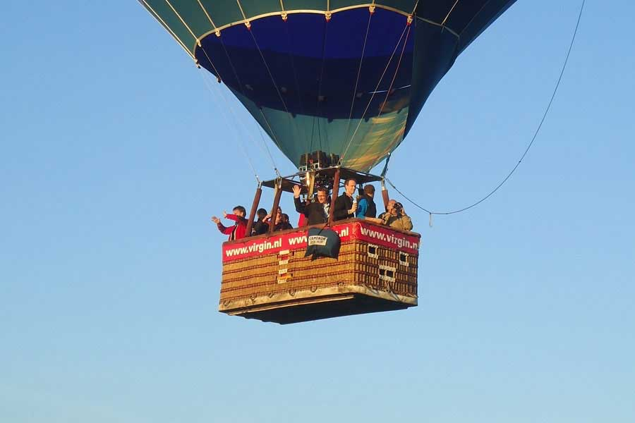 Ballonvaart Sarah Abraham