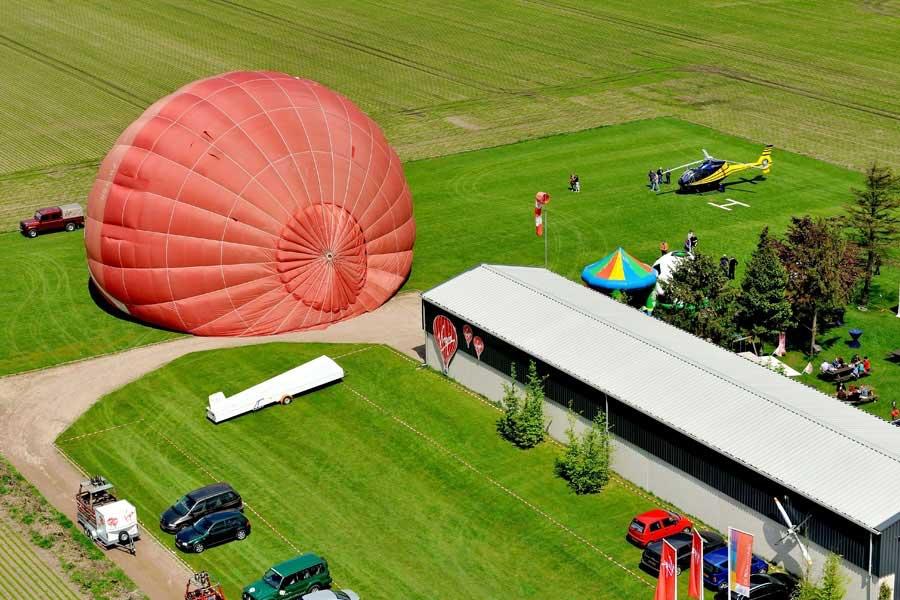 Ballonvaart Sarah Abraham Cadeau