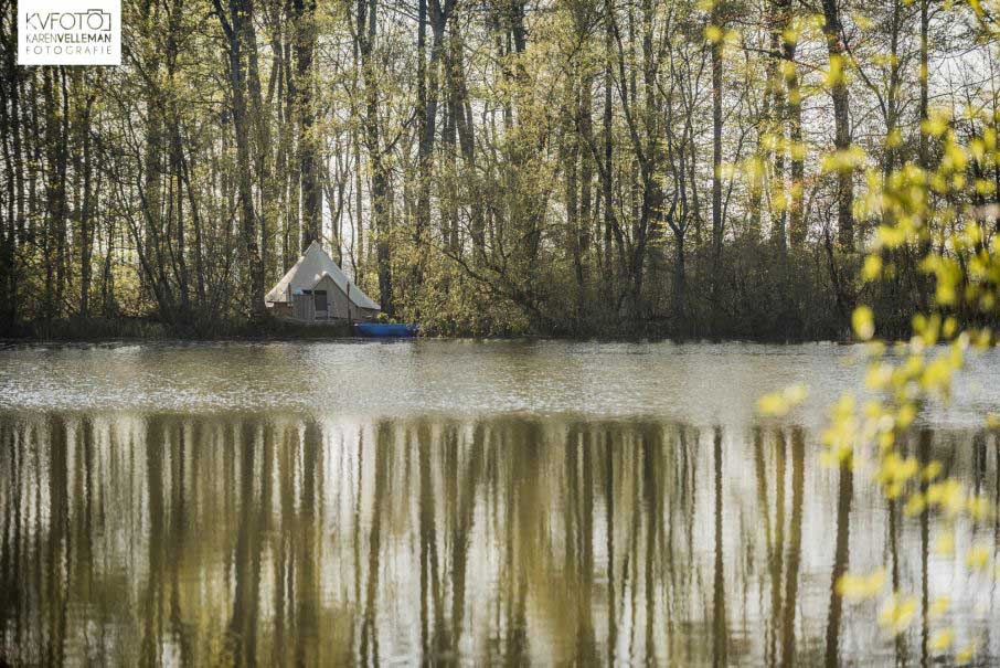 Tipi Overnachting Water Cadeau