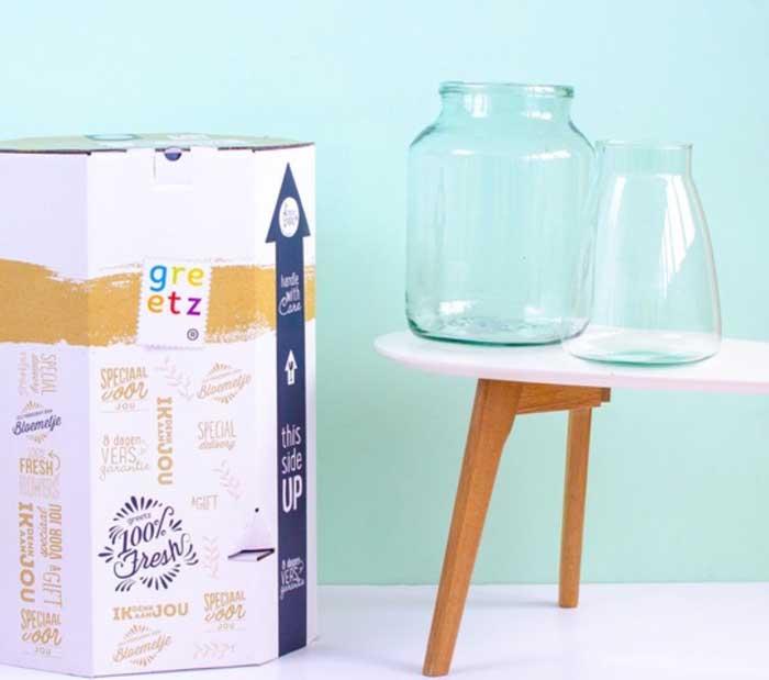 Verpakking Bloemen 50 Cadeau