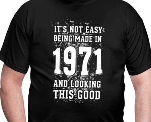 50 jaar shirt 1971